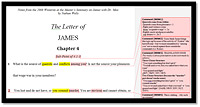 James Chapter 4 Notes - Winterim with Dr. Moo